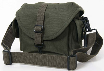 Olive F-8 Small Shoulder Bag - Domke