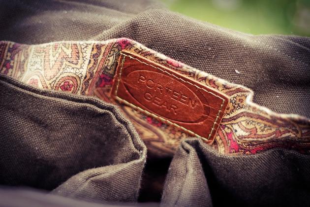 Porteen Gear bag name badge