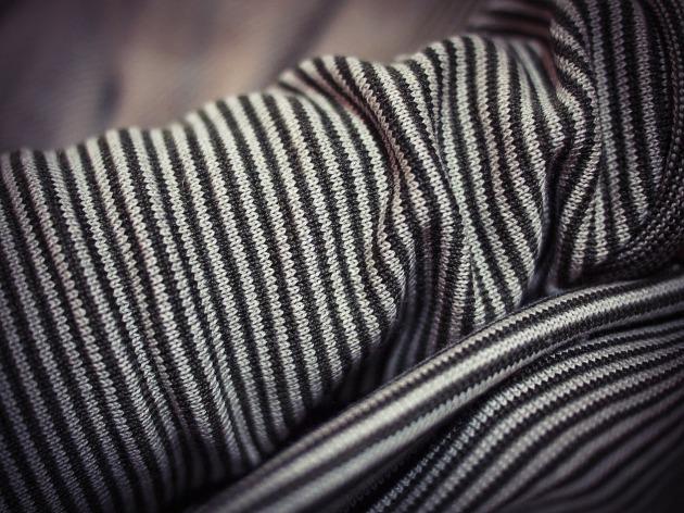 Striped merino cardigan from Gap