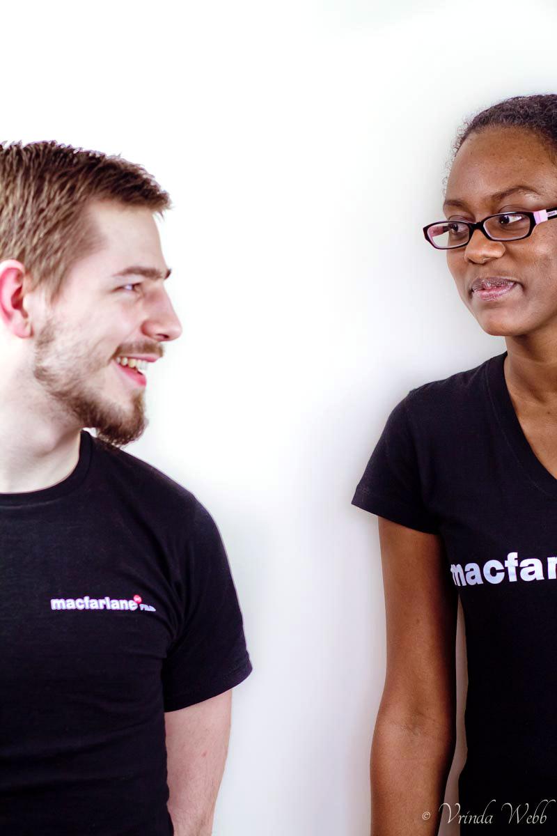 Rob and Lesley of Macfarlane Film